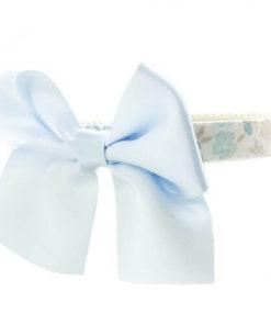 Collar Blossom Bow Azul