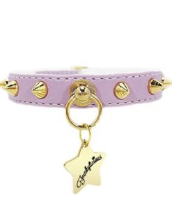 collar baby punk lila