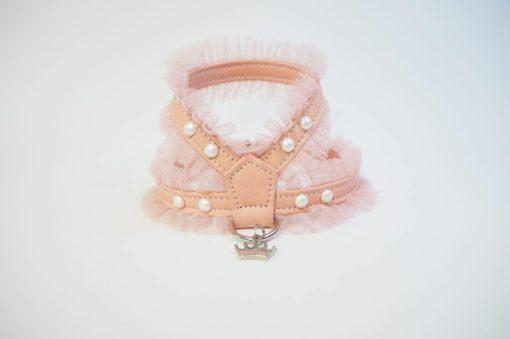 1f6cddf0918f arnes blonda y perla rosa de la firma estil for dog para perros de talla  pequeña