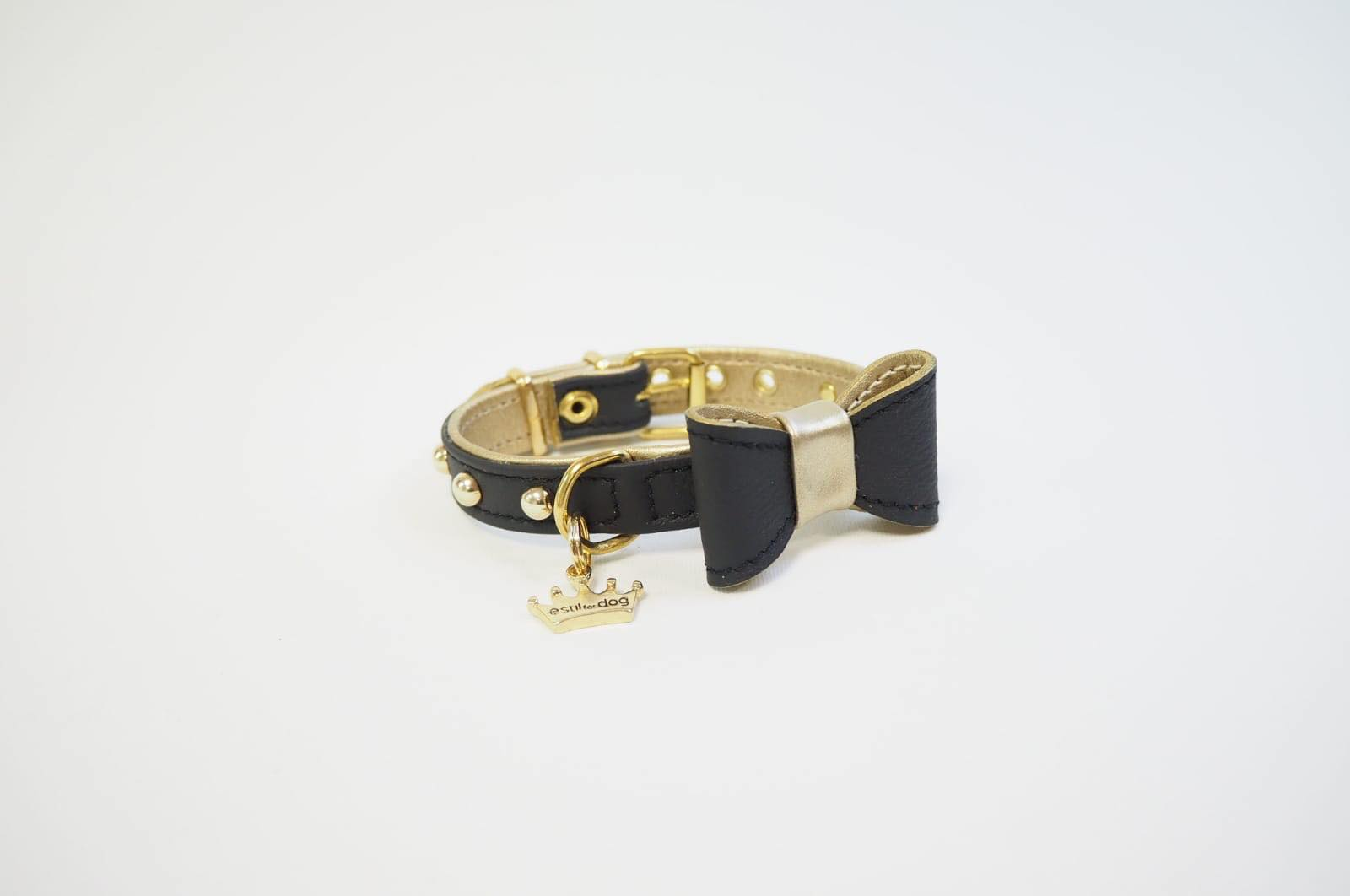 7ec0b7bb018c collar clamor negro de estil for dog para perros pequeños. Criadores de  caniches toy y