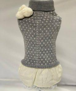 Jersey cinderella gris de la marca biozzo. Criadores de caniches toy, caniches mini toy y cavalier